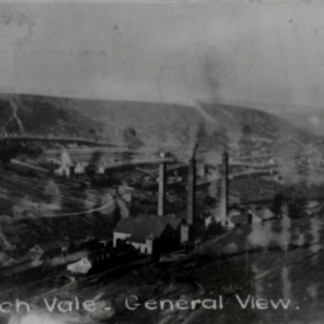 Clydach Vale, a general view c. 1900: Image 8